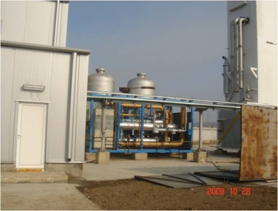 Constructia unei unitati de productie azot