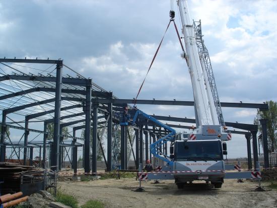 Constructia cladirii Industriale
