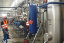 Cogeneration, & CO2 Recovery Unit construction